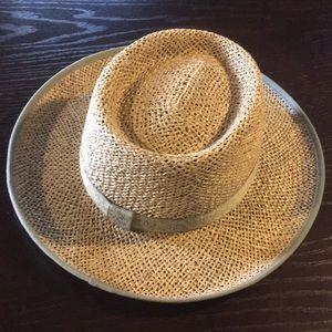 Columbia straw hat